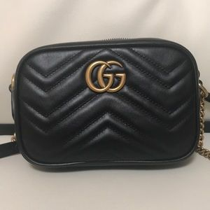 Gucci Matelasse Mini Black Camera bag